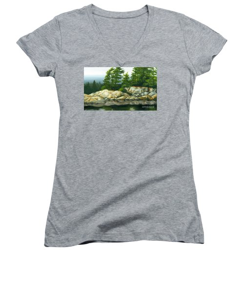 The Coming Storm Women's V-Neck (Athletic Fit)