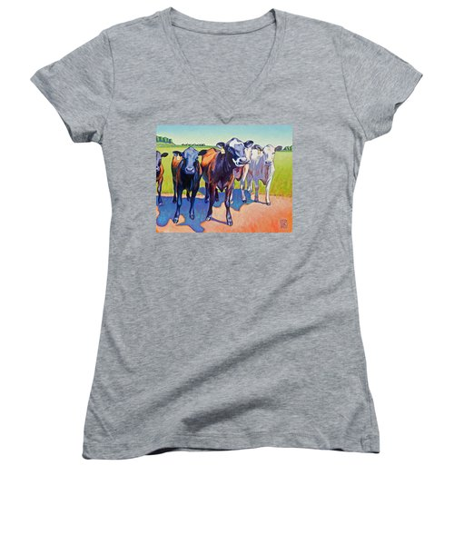 The Committee Women's V-Neck (Athletic Fit)