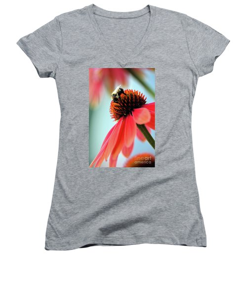 The Coneflower Collection 2 Women's V-Neck