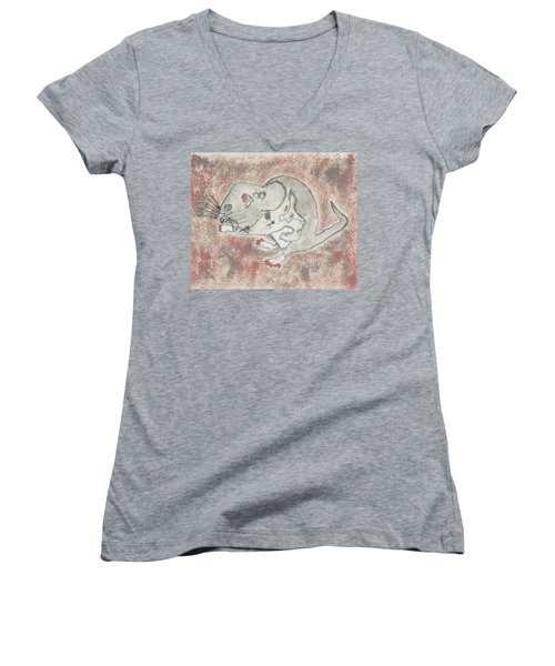 The Cool Chick #2 Women's V-Neck