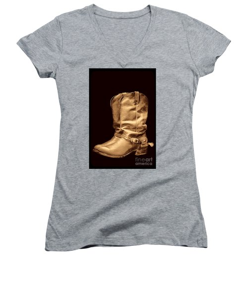 The Cowboy Boots Women's V-Neck