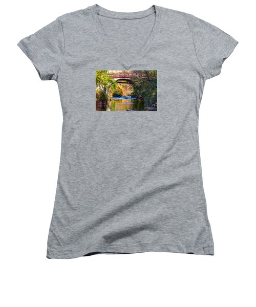 The Creek Women's V-Neck T-Shirt