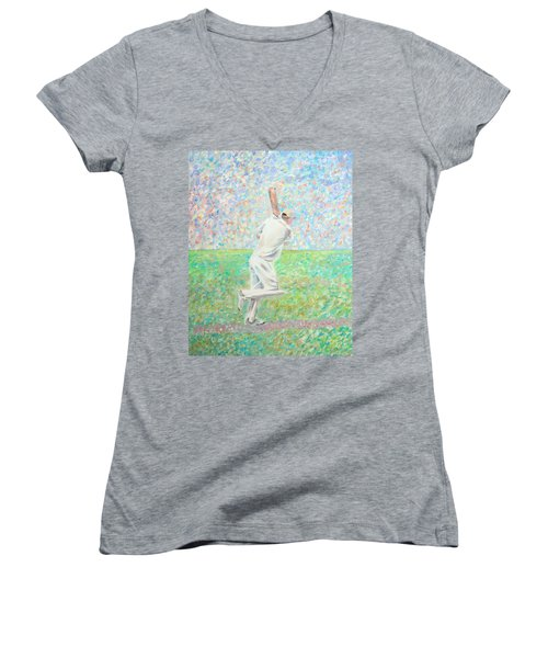 The Cricketer Women's V-Neck