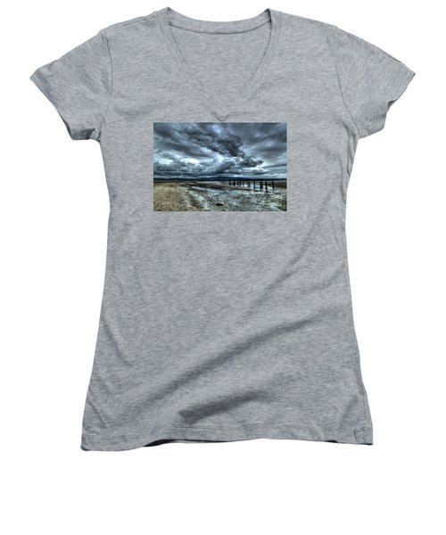 The Cunnigar 1 Women's V-Neck T-Shirt