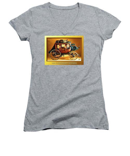 The Daugherty Express Women's V-Neck T-Shirt