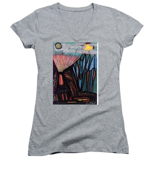 The Dawn Of Formation Women's V-Neck T-Shirt
