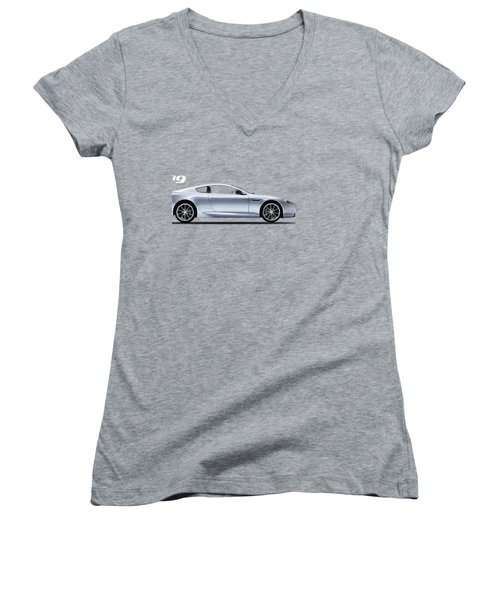 The Db9 Women's V-Neck T-Shirt (Junior Cut) by Mark Rogan