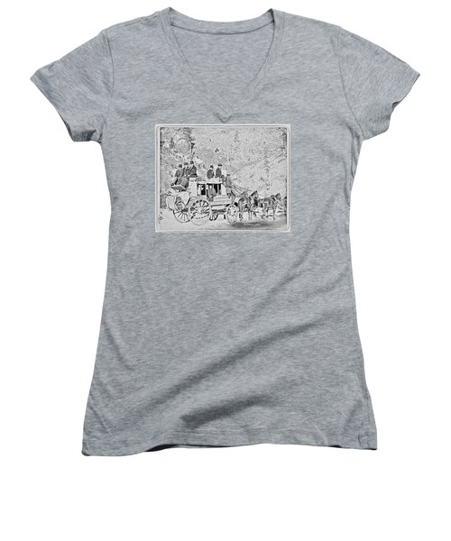 The Deadwood Coach Women's V-Neck