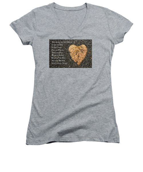 The Decay Of Heart Women's V-Neck