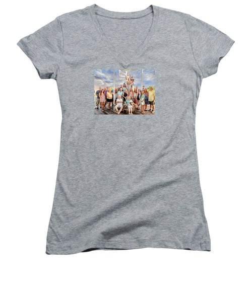 The Dezzutti Family Women's V-Neck