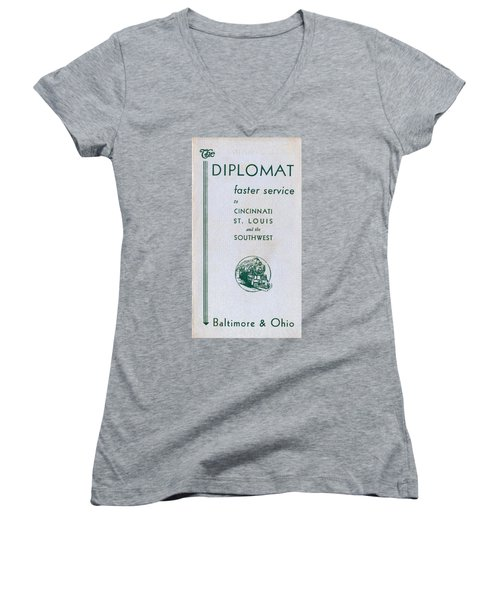 The Diplomat Women's V-Neck (Athletic Fit)