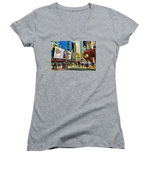 The Dirty Old City -nyc Women's V-Neck