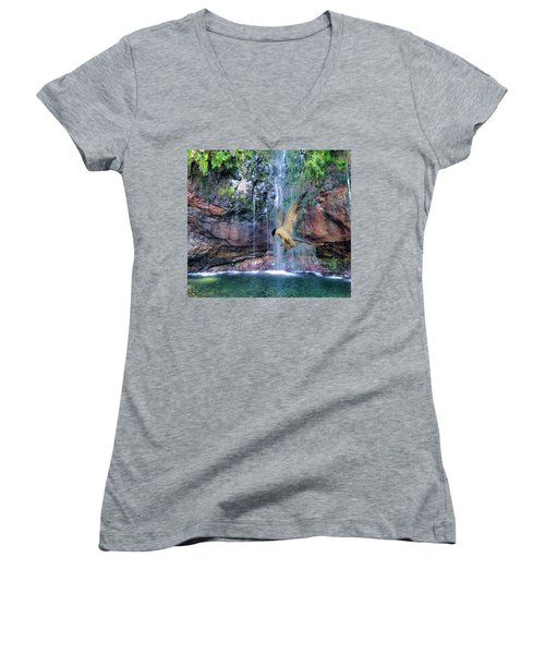 The Dive Women's V-Neck T-Shirt