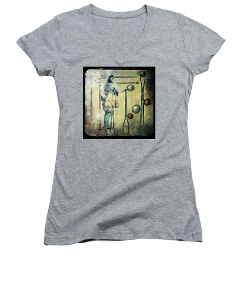 The Doctor Will See You Now Women's V-Neck T-Shirt