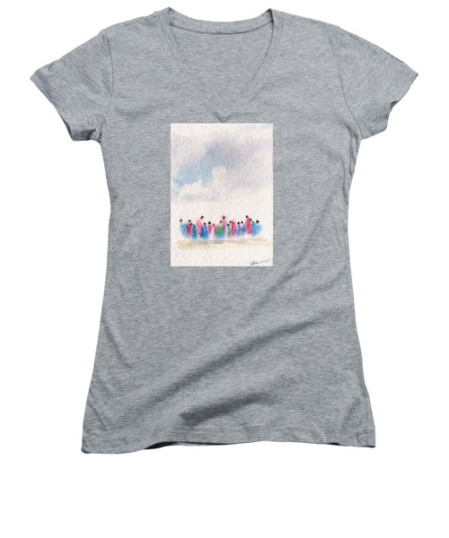 The Drifting People Women's V-Neck