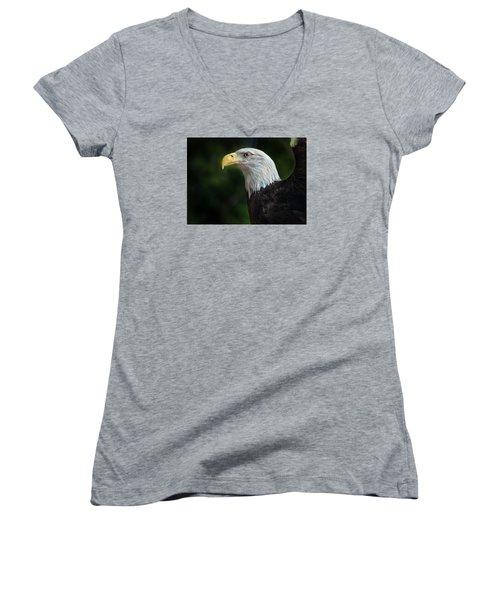 The Eagle Women's V-Neck T-Shirt