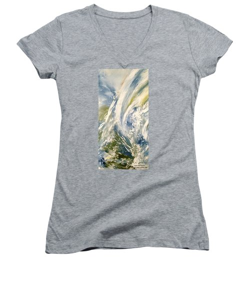 The Elements Water #1 Women's V-Neck T-Shirt
