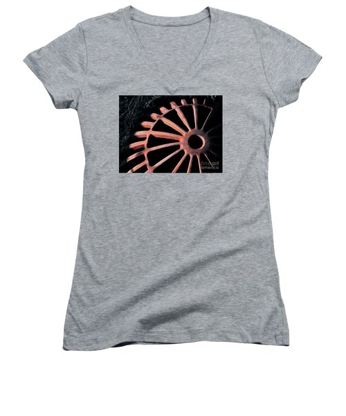 The Erosion Of Time Women's V-Neck (Athletic Fit)