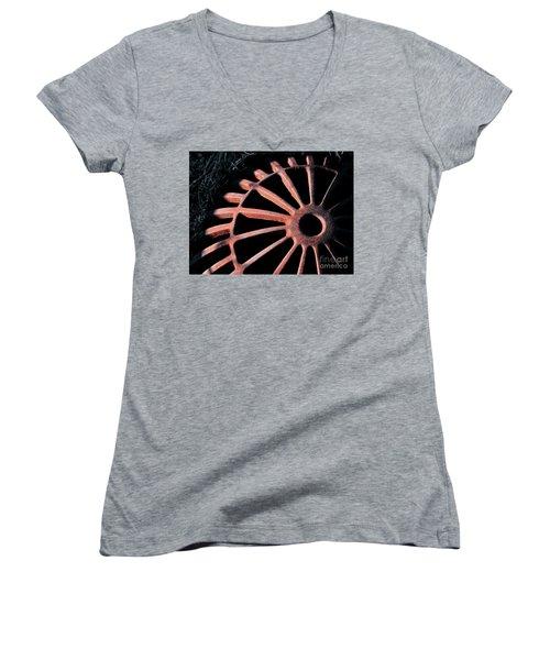 The Erosion Of Time Women's V-Neck T-Shirt