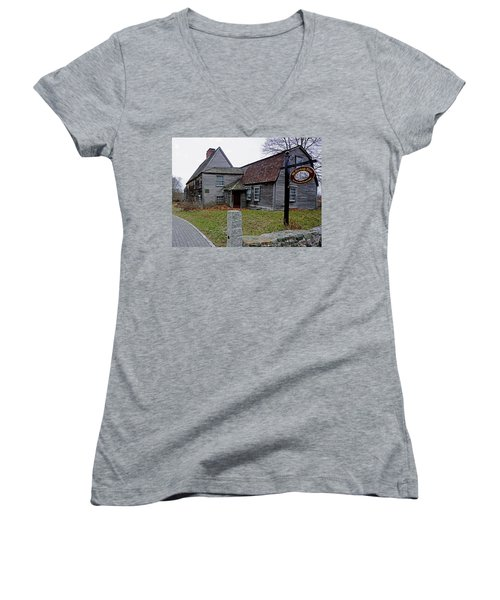 The Fairbanks House Women's V-Neck