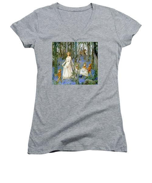 The Fairy Wood Women's V-Neck (Athletic Fit)