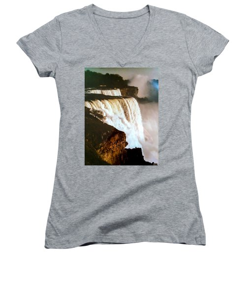 The Falls Women's V-Neck