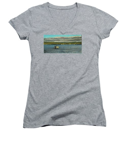 The Far Shore Women's V-Neck (Athletic Fit)