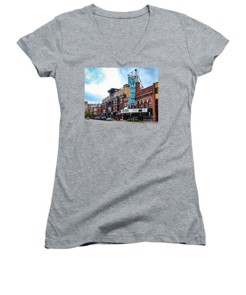 The Fargo Theater Women's V-Neck