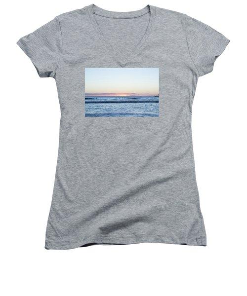 The Final Moments Women's V-Neck T-Shirt
