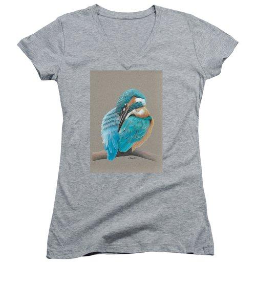 The Fisherking Women's V-Neck T-Shirt