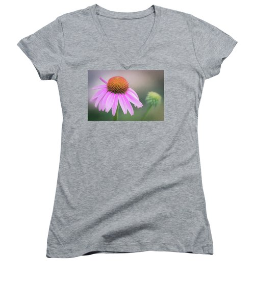 The Flower At Mattamuskeet Women's V-Neck