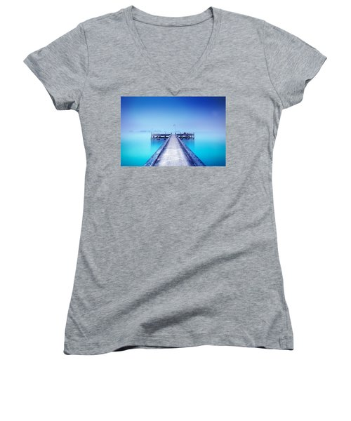 The Foggy Morning Women's V-Neck