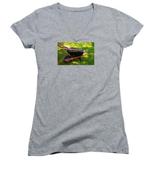 The Gardener Women's V-Neck T-Shirt (Junior Cut)