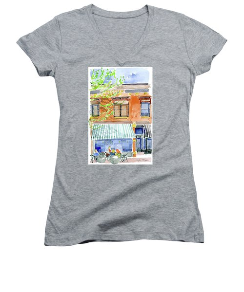 The Girls On Phillips Women's V-Neck T-Shirt