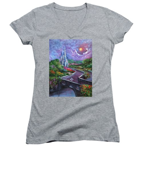 The Glass Slippers Women's V-Neck