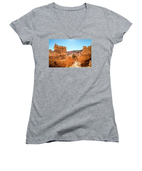 The Glowing Canyon Women's V-Neck