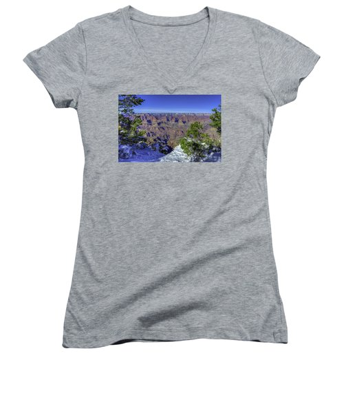 The Grand Canyon Women's V-Neck (Athletic Fit)