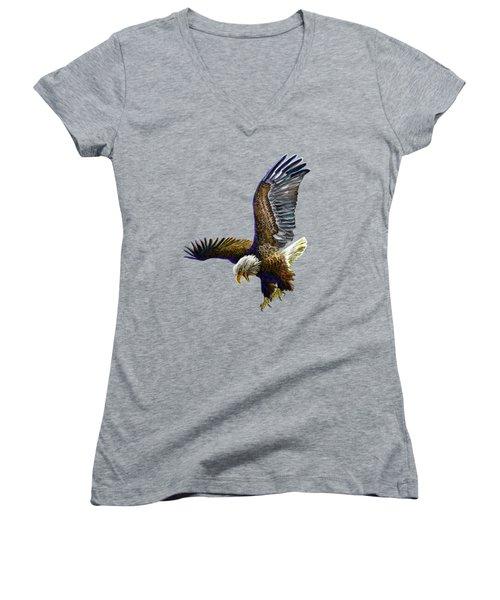 The Grand Master Women's V-Neck T-Shirt (Junior Cut)