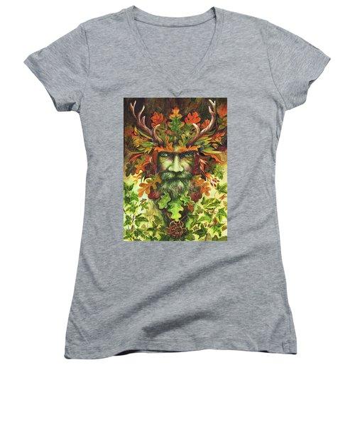 The Green Man Women's V-Neck
