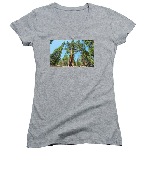 The Grizzly Giant- Women's V-Neck