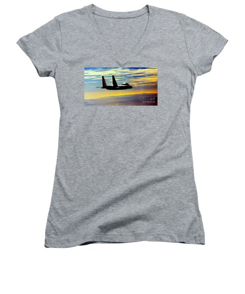 The Guardian Women's V-Neck T-Shirt