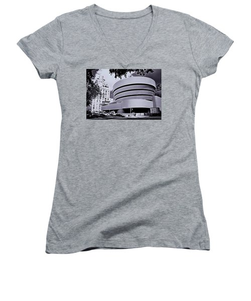 The Guggenheim Black And White Women's V-Neck