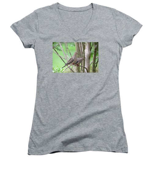 The Happy Couple Women's V-Neck T-Shirt