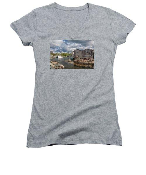 The Harbour Women's V-Neck T-Shirt