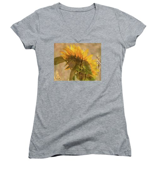 The Heat Of Summer Women's V-Neck (Athletic Fit)