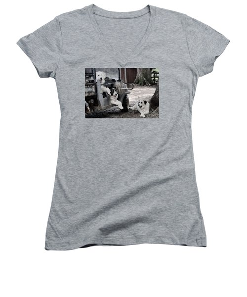 The Helpers Women's V-Neck (Athletic Fit)