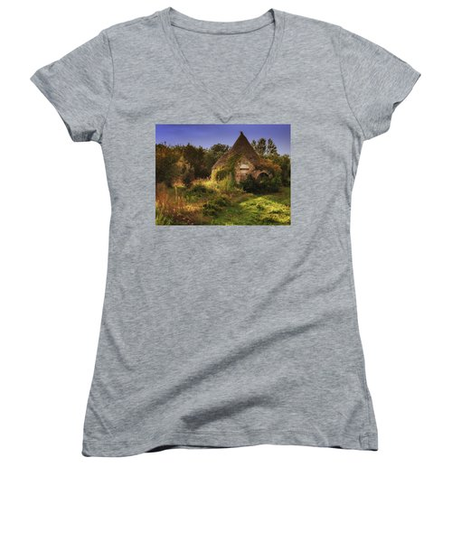 The Hobbit House Women's V-Neck (Athletic Fit)