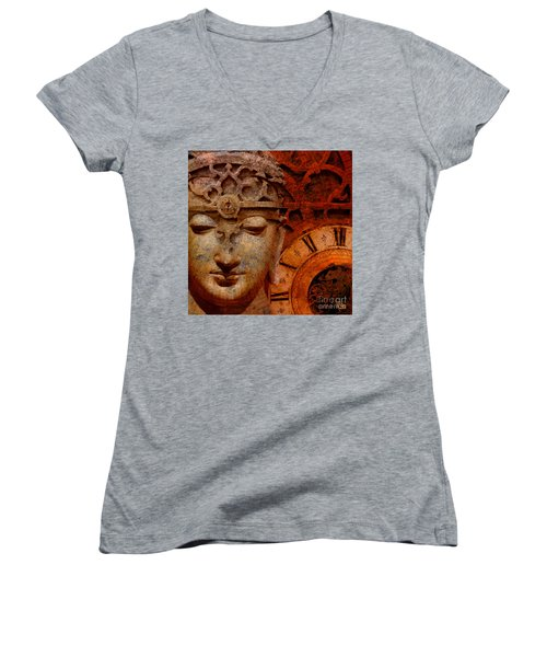 The Illusion Of Time Women's V-Neck