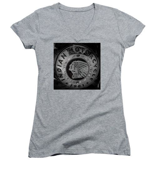 The Indian Motorcycle Logo Women's V-Neck