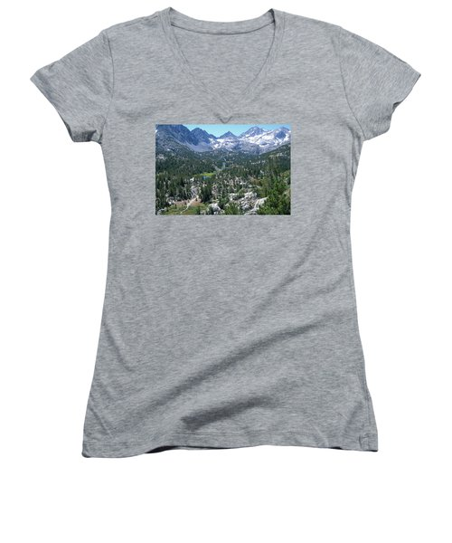 The John Muir Trail Women's V-Neck (Athletic Fit)